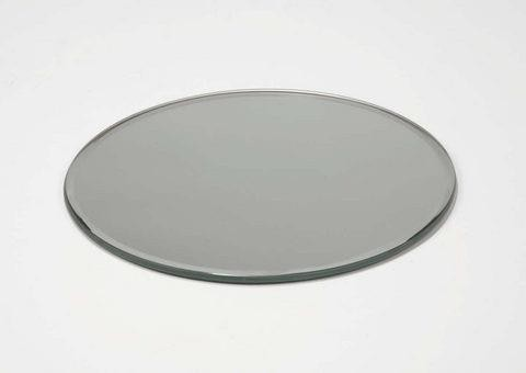 30Cm Round Mirror Plate - Balloons By Up Up & Away