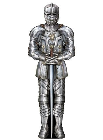 Suit Of Armour Cutout