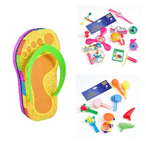 1024e6b6c38bf Pinata-Flip Flop with Free Toys - Balloons By Up Up   Away
