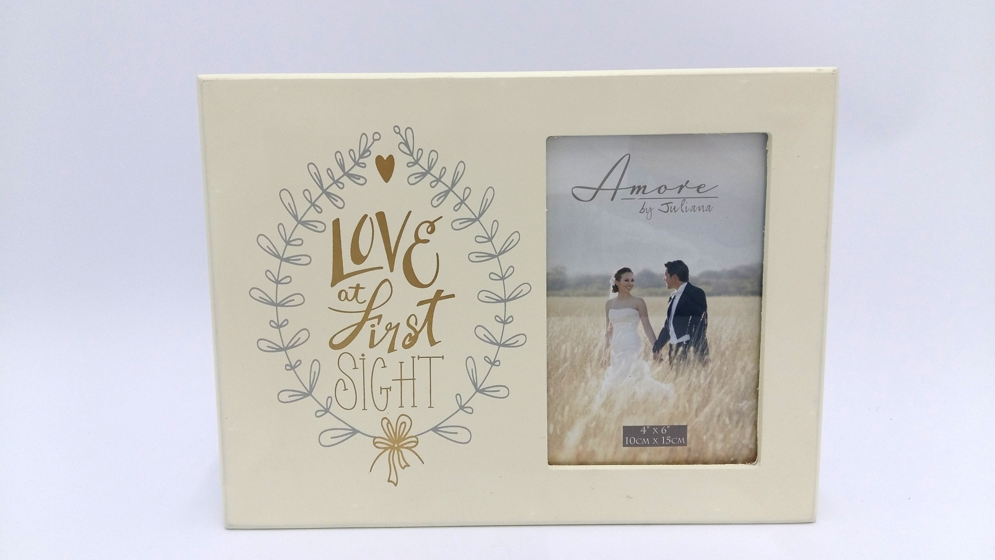 Amore Mdf Photo Frame Love At First Sight 4 X 6 Balloons By Up