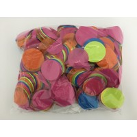 1kg 55mm Circle Paper Confetti - Multicoloured