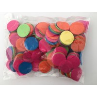 100g 25mm Circle Tissue Confetti - Multicoloured