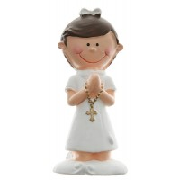 White Communion Figurine