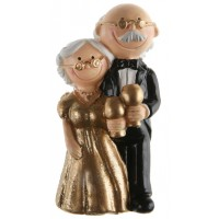 Golden Wedding Figurine