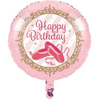 18 inch Twinkle Toes Birthday Foil