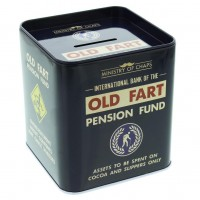 Ministry of Chaps Tin Money Box - Old Fart
