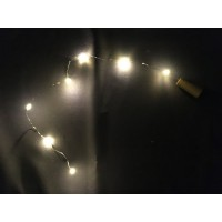 LED Cork Effect Light String