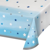 One Little Star - Boy Plastic Tablecover
