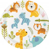 Happi Jungle Dinner Plate