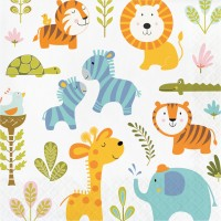 Happi Jungle Luncheon Napkin