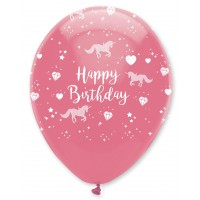 Unicorn Fantasy Latex Balloon 6 Pack